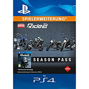 Ride 2 – Season Pass [PS4 Download Code – österreichisches Konto]