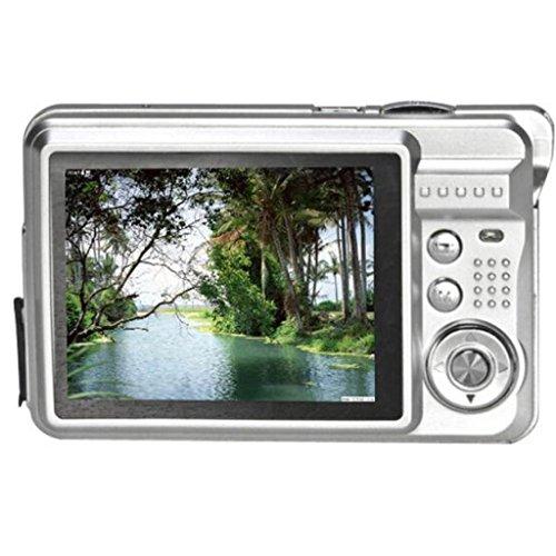 Vovotrade® 18 pixel CMOS da 2,7 pollici mega schermo TFT LCD HD 720P Digital UE Argento