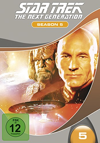 Star Trek - The Next Generation: Season 5 [7 DVDs] (Star Trek Staffel 5)