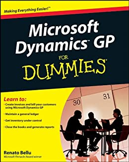 Microsoft Dynamics GP For Dummies de [Bellu, Renato]