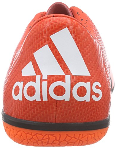adidas Performance X15.3 in Herren Fußballschuhe Rot (Bold Orange/Ftwr White/Solar Orange)