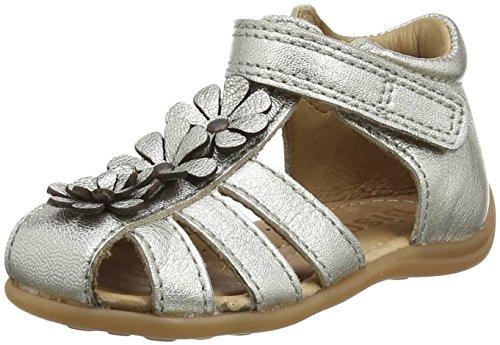 Bisgaard Baby Mädchen 71209118 Sandalen, Silber (Silver), 23 EU