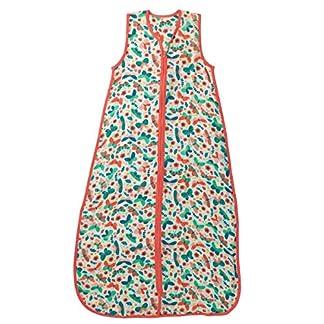 El saco de dormir de verano Slumbersac para bebés, de aprox. 0.5 Tog – Mariposas- de 3-6 años/130 cm