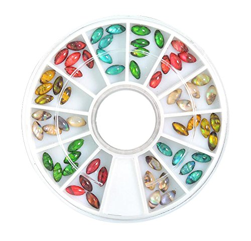 Cadeau de décoration de bricolage pour l'art d'ongle et le cas de téléphone portable Articles coloré