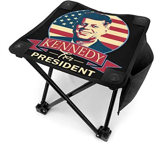 123456789 Klappbarer Campinghocker John F Kennedy für President Lightweight Outdoor Chairs Camping Sitz mit Tragetasche