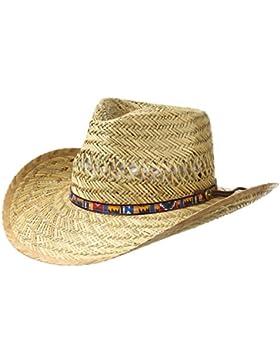 Wild West Cappello in Paglia cappelli da sole cappello estivo cappello da uomo