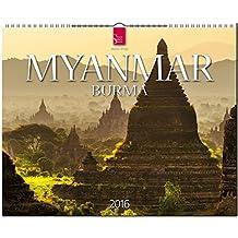 Myanmar - Burma 2016: Original Stürtz-Kalender - Großformat-Kalender 60 x 48 cm [Spiralbindung]