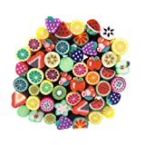 Caldo ragazza 50pc Fimo canne 3d design canne Sticks Adesivo Decorazioni Nail Art Nail Art Strumenti...