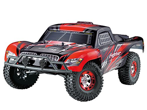 Amewi 22184 - Fighter 1 RTR 4WD 1:12 Short Course, Fahrzeug Rc Short Course Truck Rtr