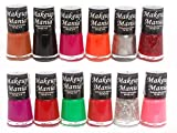 #6: Makeup Mania Exclusive Nail Polish Set of 12 Pcs (Multicolor Set # 72)