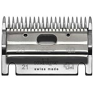 Heiniger Schermaschine Zubehör Heiniger Schermesser Satz 703 520 Oben 23Z Unten 21Z 2-4mm Schnitthöhe
