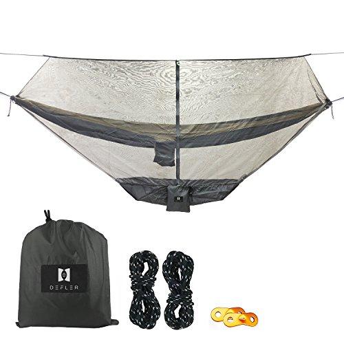 LinkHealth Camping Hängematte Bug und moskitonetz - 360 ° Mesh - netze Hält Nicht Schutz Perfekt Sehen ums, Mücken und Insekten - Passt Fast Alle Hängematten (moskitonetz mit Speicher Tablett) -