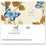 Upto 10% off at checkout||TAJ EXPERIENCES E-GIFT CARD