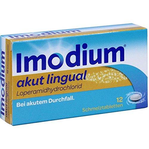 Imodium akut lingual Eurim, 12 St. Schmelztabletten