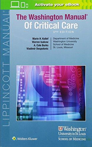 The Washington Manual Of Critical Care por Marin Kollef