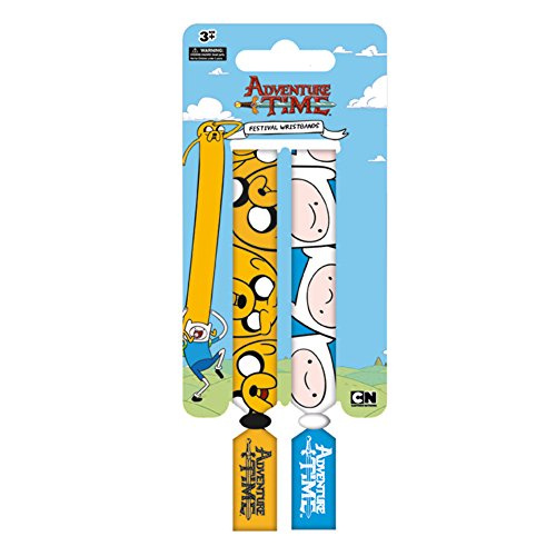 Time Finn and Jake Double Festival Wristband Set (Adventure Time Finn Kostüme)