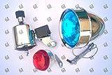 #10: GI™ Friction Generator Dynamo Headlight Head Tail Light For Bicycle Motorized Bike