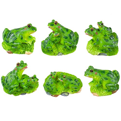 FROG 3-Dimensional Magnet Set of 6 Magnets *NEW!* by KMC/KK-Frog -