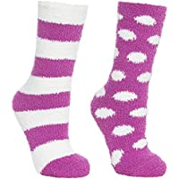 Trespass Women's Snuggie Socks (2 Pair)