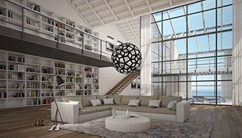 SalesFever Moderne Wohnlandschaft 320×250 cm in L-Form Sahoria