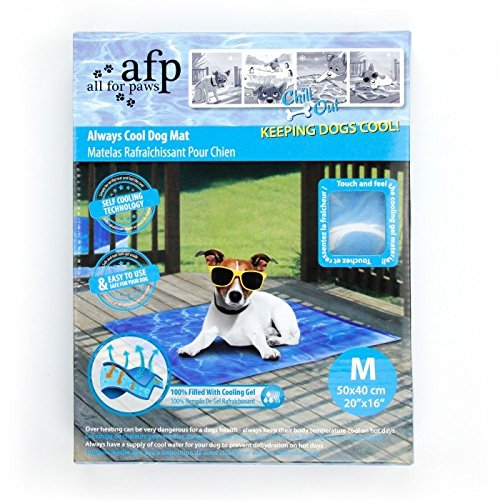 AFP Chill Out - Always Cool Dog Mat - M
