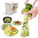 JHCtech Coupe-légumes réglable 3 en 1 en acier inoxydable 304 lames pour carotte,...