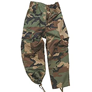 Mil-Tec US BDU Hose Kids Oliv