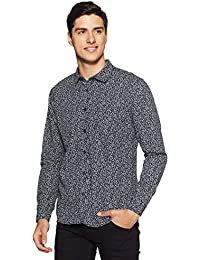 Urban Ranger by Pantaloons Men's Printed Slim Fit Casual Shirt