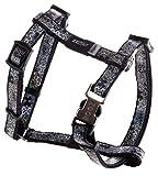 Rogz SJ520-A Lapz Trendy verstellbares Hundegeschirr, XS, schwarz