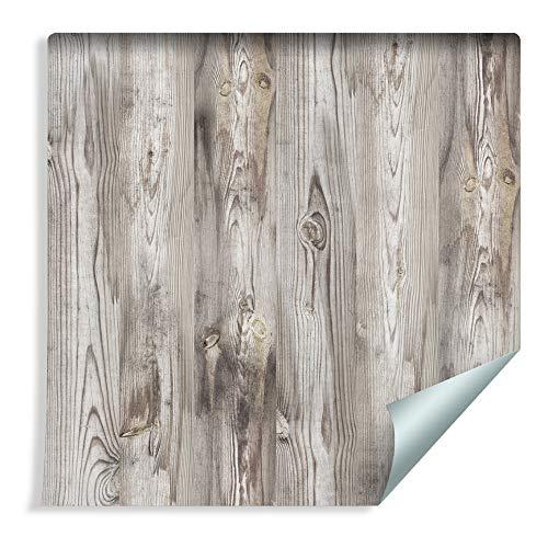 Muralo Tapete Holzbretter Vlies Ausstattung gemütlich geschmackvoll - 219101986 -