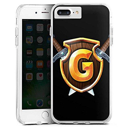 Apple iPhone X Silikon Hülle Case Schutzhülle GommeHD Fanartikel Merchandise Youtube Bumper Case transparent
