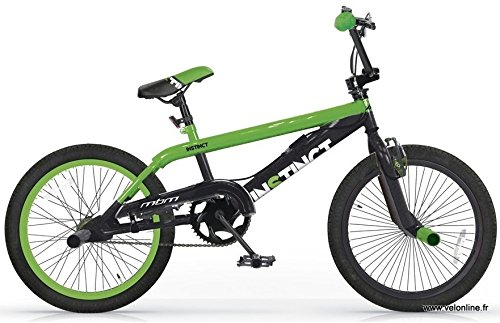 INSTINCT BICICLETA BMX FREESTYLE 20   COLOR NEGRO Y VERDE