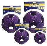 Zen-Kat Balón de fútbol Turbo Kick 20cm púrpura