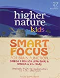 Higher Nature Kids Smart Focus Jellies - Pack of 27