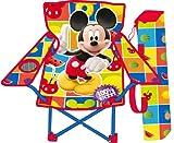 Best Disney Chaises de camping pliante - Mickey Mouse WD7867 Chaise Pliable avec Bras/Housse Motif Review