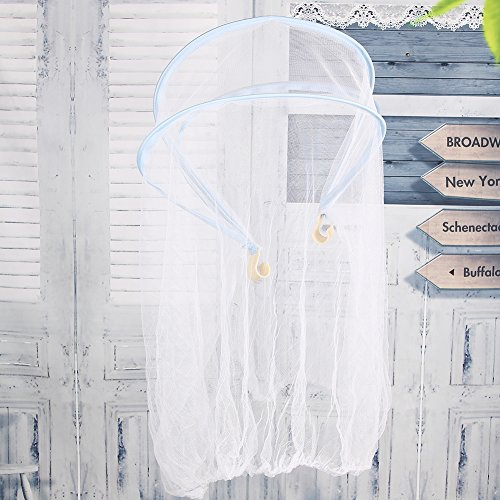 Moustiquaire Lit Bébé Tente Moustiquaire Pop Nomade Berceau Chambre Intérieur Enfants Dôme Ciel de Lit Princesse Nouveau-né Anti-moustiquaires Contre Insectes Confortable Durable pour Eté