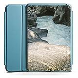 Apple iPad Mini 4 Smart Case hellblau Hülle Tasche mit Ständer Smart Cover Felsen Natur Stein