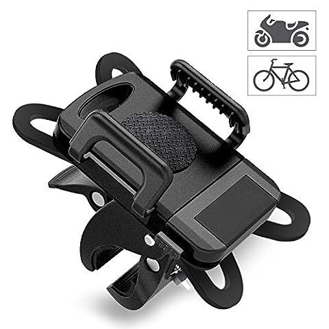 Bicycle/Motorcycle Cell Phone Holder For Smartphone,Bike Mount,iPhone Bike Holder,Universal Bike Phone Holder