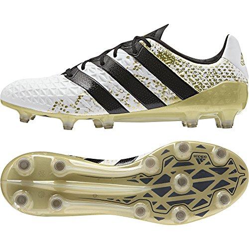 adidas Herren Ace 16.1 FG Fußballschuhe, Multicolore (Ftwwht/Cblack/Goldmt), 42 EU (Adidas Adizero Fußball)