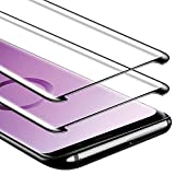 Zloer [Pack de 2] Samsung Galaxy S8 Plus Film Protection Ecran Verre Trempé [9H...