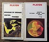 2 volumes apologie de socrate criton ph?don 1966 ; sophiste politique phil?be tim?e critias 1981 gf