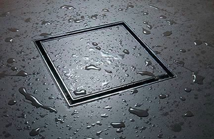 LIDCO Tile/Marble / Stone Insert Floor Drain in Marine Grade Stainless Steel SS 316 (150mm x 150mm) - 6 Inch x 6 Inch