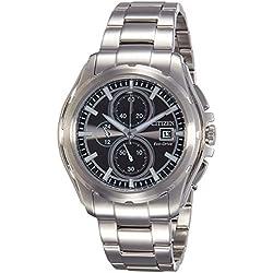 Citizen Herren-Armbanduhr XL Chronograph Edelstahl CA0270-59F