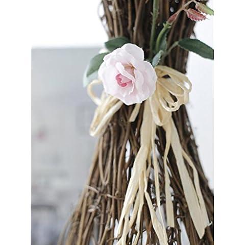 GWZ,Fiori artificiali, fiori artificiali di fiori artificiali, fiori sposa in rattan, layout di Club LINXIANBISHUIYIYUAN