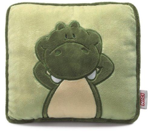 Nici 27852 - Kissen Krokodil 25 x 25 cm, quadratisch