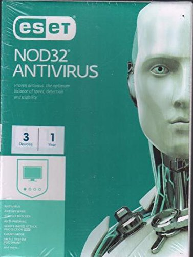 Eset Nod32 Antivirus Latest Version - 3 PCs, 1 Year...
