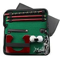 junta Kit de madera Club–Putter de golf para interior para viaje práctica de golf putter set
