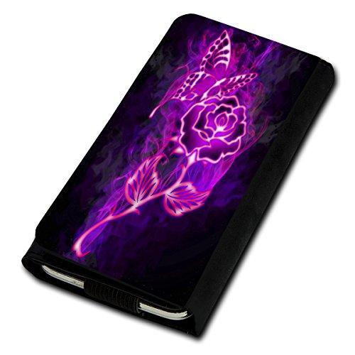 Book Style Flip Handy Tasche Case Schutz Hülle Foto Schale Motiv Etui für ZTE Blade C341 - Flip U4 Design8
