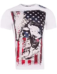 BENLEE T-Shirt HEAVY BAGGING - White