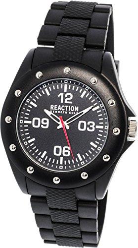 Kenneth Cole 10031712 Black Rubber Quartz Fashion Watch